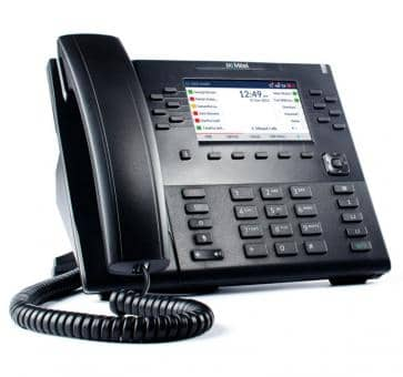 """Mitel 6869 SIP phone with 4,3"""" color backlit LCD display"""