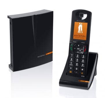 Alcatel IP1020 DECT/SIP Base and IP20 Handset