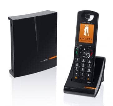 Alcatel IP1020 DECT/SIP Base and IP20 Handset