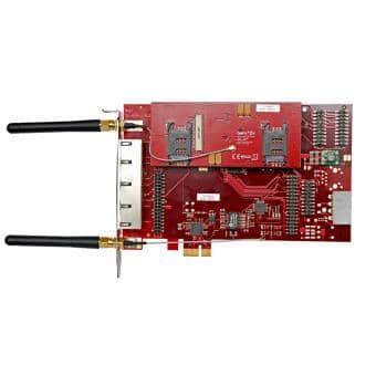beroNet BF4002GSM 2x BF2GSM PCIe Gateway