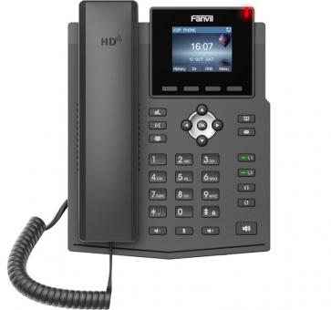 Fanvil X3S V2 IP phone SIP incl. PSU