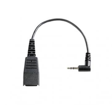 freeVoice ST25A cord 2.5mm with QD and 2,5mm jack 8800-00-46-FRV