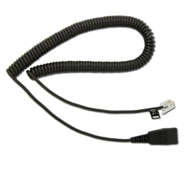 freeVoice FC-AG cord with headset interface (DHSG) and QD 8800-01-94-FRV