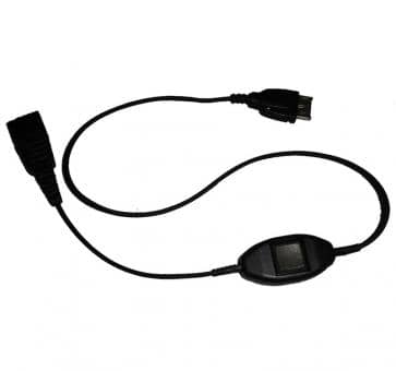 Jabra QD cord, straight, mod plug, Siemens Slim-Lumberg Stecker, with call accept 8800-00-76