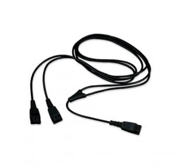 JABRA Y-Training Cord supervisors adapter cable 8312-129