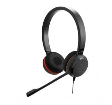 Jabra Evolve 20 UC Duo Headset USB Special Edition 4999-829-409