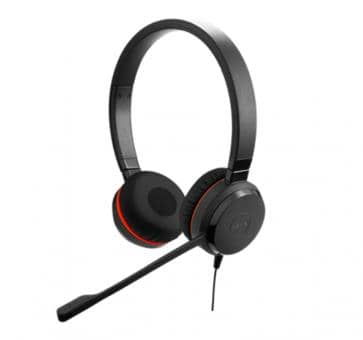 Jabra Evolve 30 II MS Duo Headset USB 3.5mm jack 5399-823-309