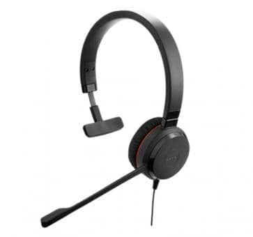Jabra Evolve 30 II MS Mono Headset USB 3.5mm jack 5393-823-309