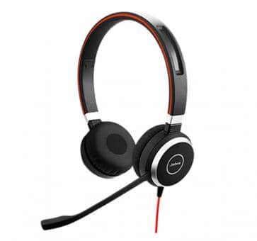 Jabra Evolve 40 UC Duo Headset 6399-829-209