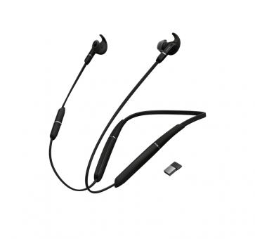 Jabra Evolve 65e UC Bluetooth-Headset inkl. Link 370 6599-629-109