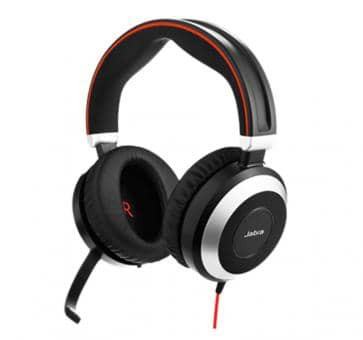 Jabra Evolve 80 MS Duo Headset 7899-823-109