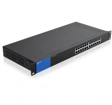 LINKSYS LGS124 24x 10/100/1000Mbps Gigabit Switch