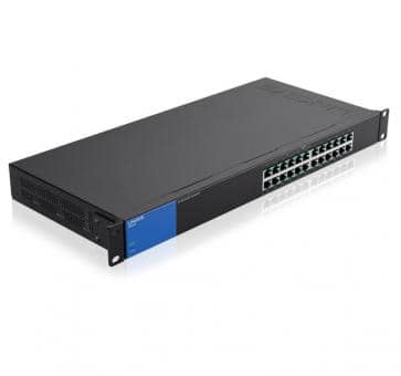 LINKSYS LGS124P 24x 10/100/1000Mbps thereof 12x PoE+ Gigabit Switch