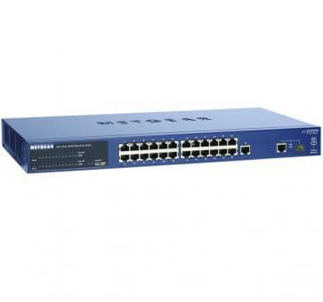 NETGEAR FS726TPEU ProSafe 24-Port Smart Switch with 2 Gigabi