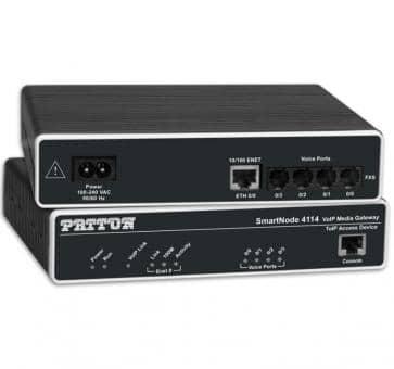 Patton Inalp SmartNode SN4116/4JS2JO/EUI 4x FXS 2x FXO