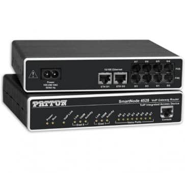 Patton SmartNode 4524 4x FXO VoIP Gateway Router SN4524/JO/E