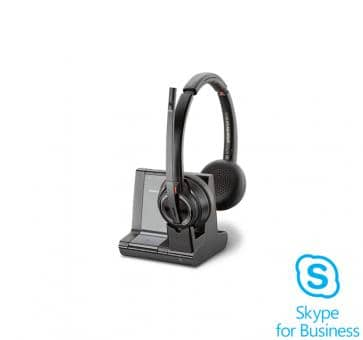 Plantronics Savi 8220 Skype for Business Headset DECT Duo 207326-02