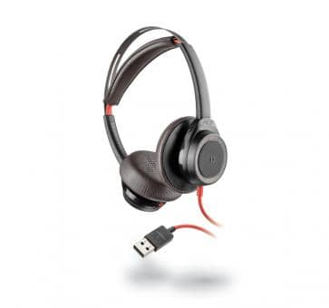 Plantronics Blackwire C7225 Headset USB-A ANC black 211144-01