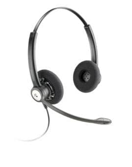 Plantronics Entera HW112N/A DUO Headset 79181-13