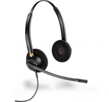 Plantronics EncorePro HW520 DUO Headset 89434-02