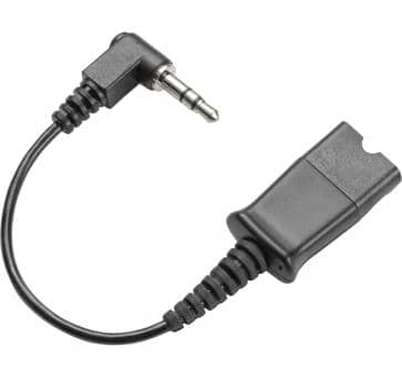 Plantronics cable 3,5mm jack to QD 38324-01