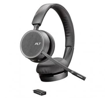Plantronics Voyager 4220 UC Headset USB-C Bluetooth 211996-02