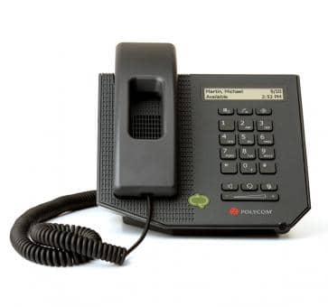 Polycom CX300 IP phone Skype For Business 2200-32530-025
