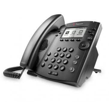 Polycom VVX300 VoIP phone 2200-46135-025