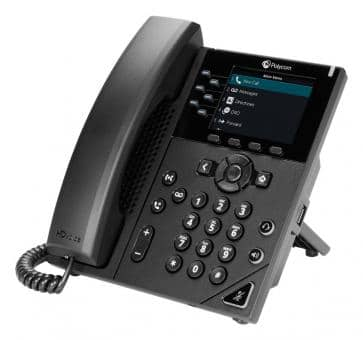 Polycom VVX 350 IP phone PoE (without PSU) 2200-48830-025