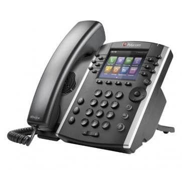 Polycom VVX411 IP phone PoE Skype For Business (without PSU)