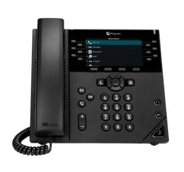 Polycom VVX 450 IP phone PoE (without PSU) 2200-48840-025