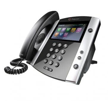 Polycom VVX601 IP phone PoE (no PSU) 2200-48600-025