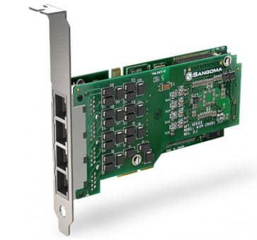Sangoma A104DE 4 Ports PRI PCIe + HW EC