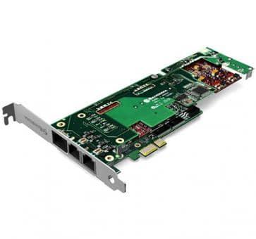Sangoma B720100DE 4 Ports BRI + 2 Ports FXS PCIe + HW EC