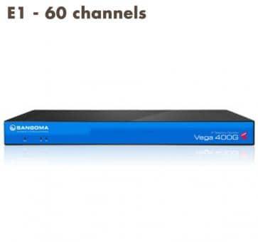 Sangoma Vega 400 Gateway E1 - 60 channels
