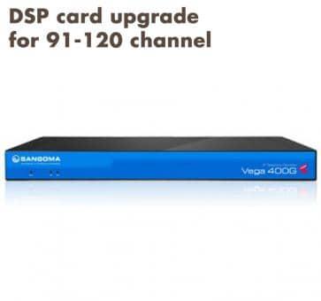 Sangoma Vega 400 Gateway DSP card upgrade for 91-120 channel