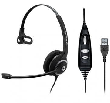 EPOS Sennheiser SC 30 Headset Skype for Business Mono USB  504546