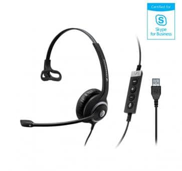 EPOS Sennheiser SC230 Headset Mono USB Skype for Business 506482