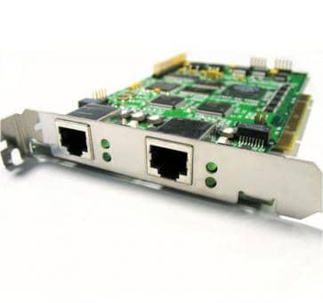 Sirrix PCI2E1 2 Port E1 Card with HW DSP EC Modul