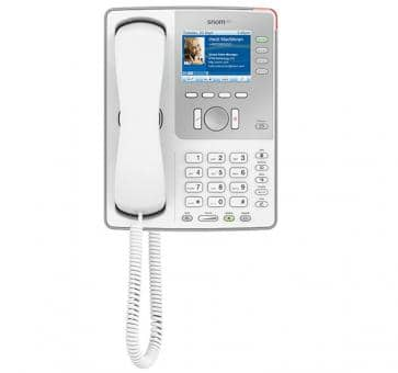 SNOM 821 light grey IP phone with TFT color display