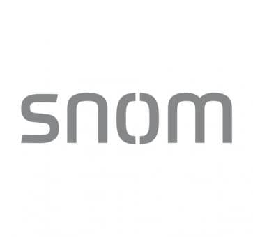 SNOM Telephone Receiver Cable Black for 3xx