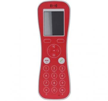 Spectralink Butterfly handset red