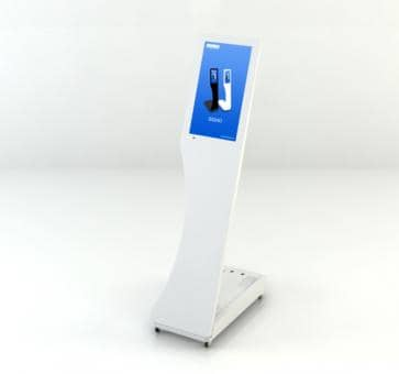 SWEDX Signo Mini-Stele Touch Screen SWSST156-A1 Digital Sign