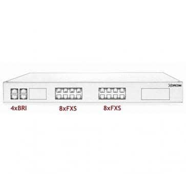 Xorcom Astribank - 4 BRI + 16 FXS - XR0031