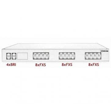 Xorcom Astribank - 4 BRI + 24 FXS - XR0032