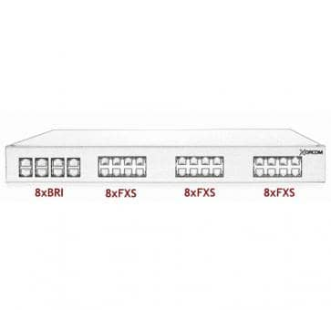 Xorcom Astribank - 8 BRI + 24 FXS - XR0044