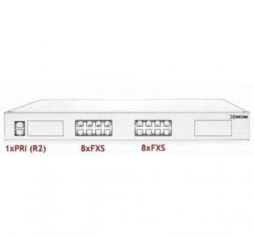 Xorcom Astribank - 1 PRI + 16 FXS - XR0049