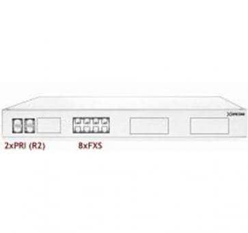 Xorcom Astribank - 2 PRI + 8 FXS - XR0057 - 1U