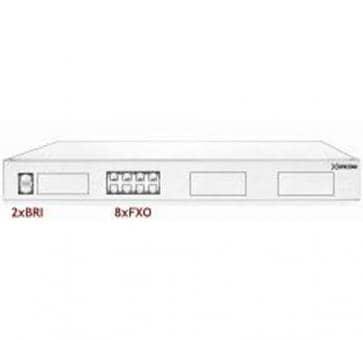 Xorcom Astribank - 2 BRI + 8 FXO - XR0087 - 1U