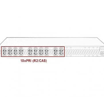 Xorcom Astribank - 10 PRI - XR0112 - 1U
